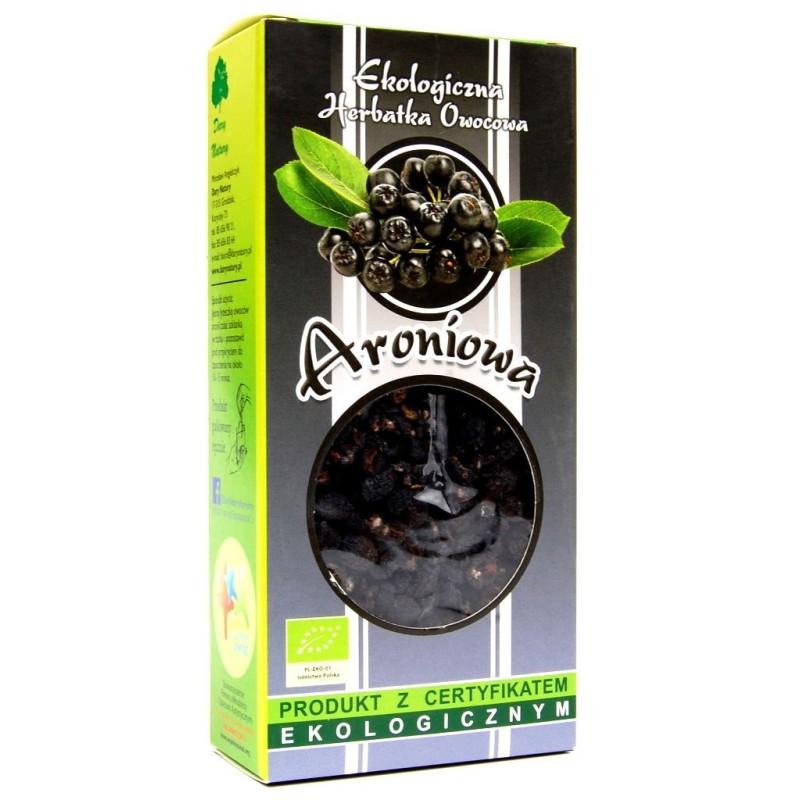 Herbatka aroniowa bio 100g DARY NATURY