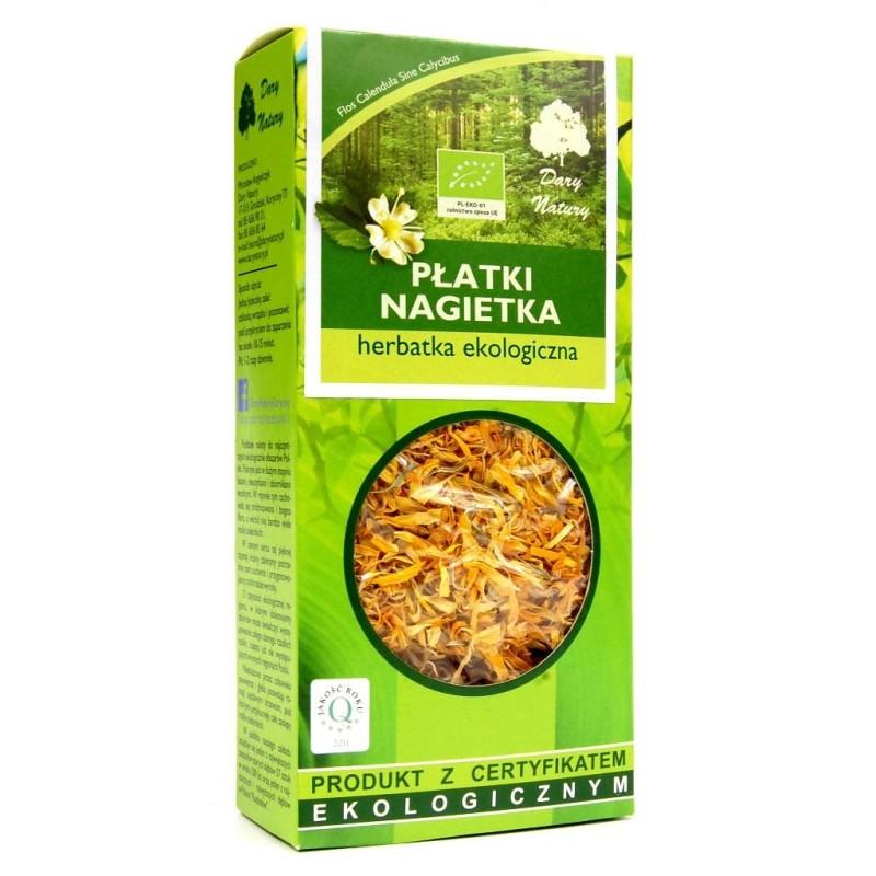 Herbatka płatki nagietka bio 25g DARY NATURY