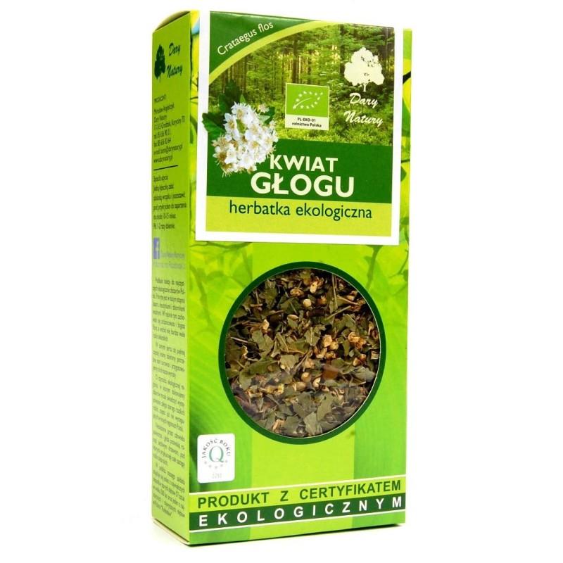 Herbata kwiat głogu bio 50g DARY NATURY