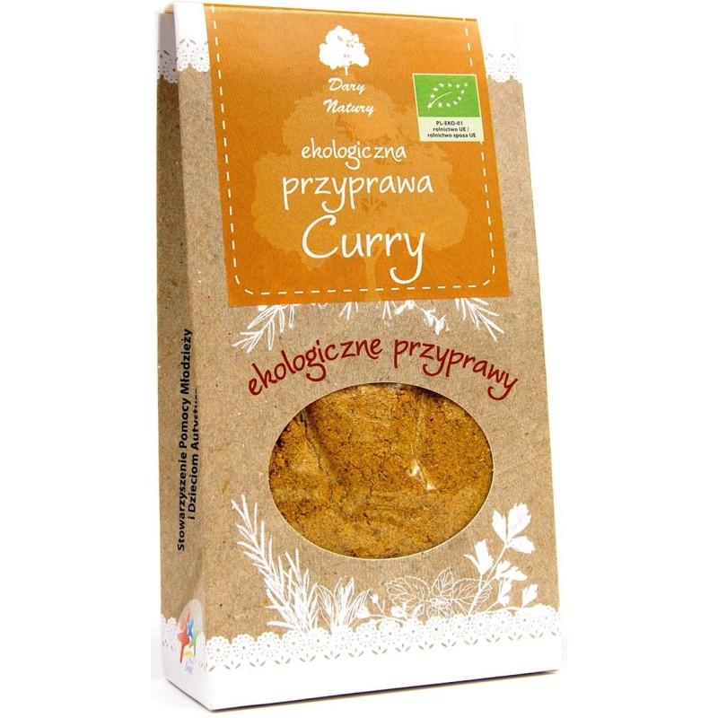 Curry bio 60g DARY NATURY