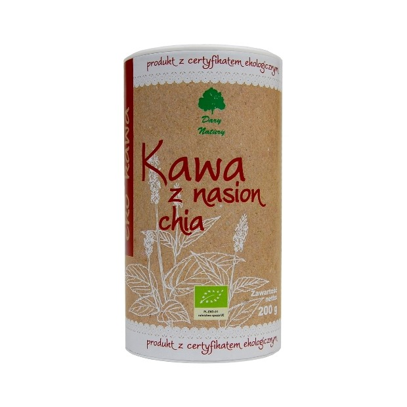 Kawa z nasion chia BIO 200g DARY NATURY