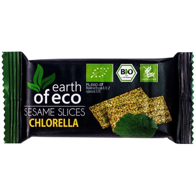 Sezamki z chlorellą bio 18g EARTH OF ECO