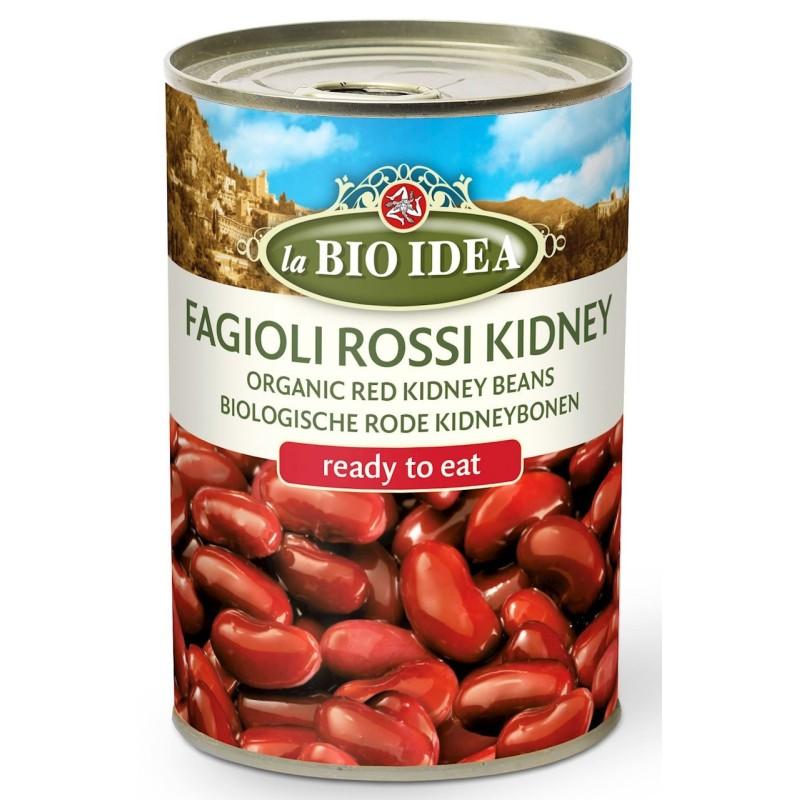 Czerwona fasola kidney (puszka) BIO 400g LA BIO IDEA