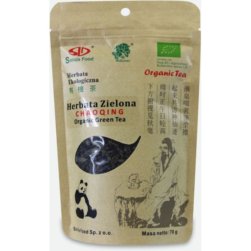 Herbata zielona Chaqqing BIO 70g SOLIDA FOOD
