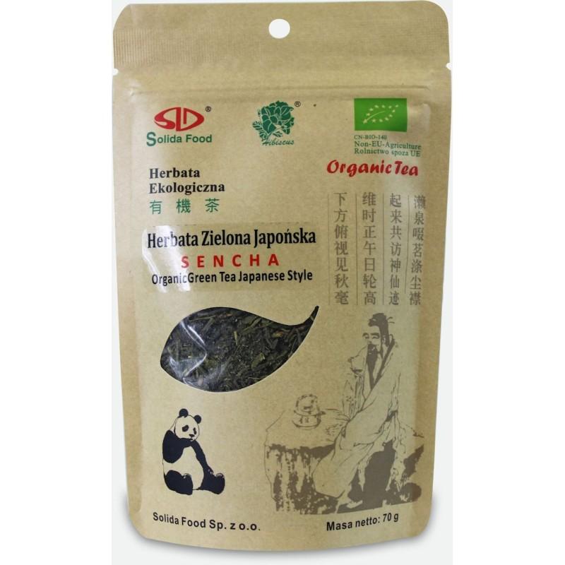 Herbata zielona japońska sencha bio 70g SOLIDA FOOD