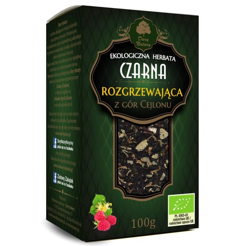 Herbata czarna rozgrzewająca eko 100g DARY NATURY