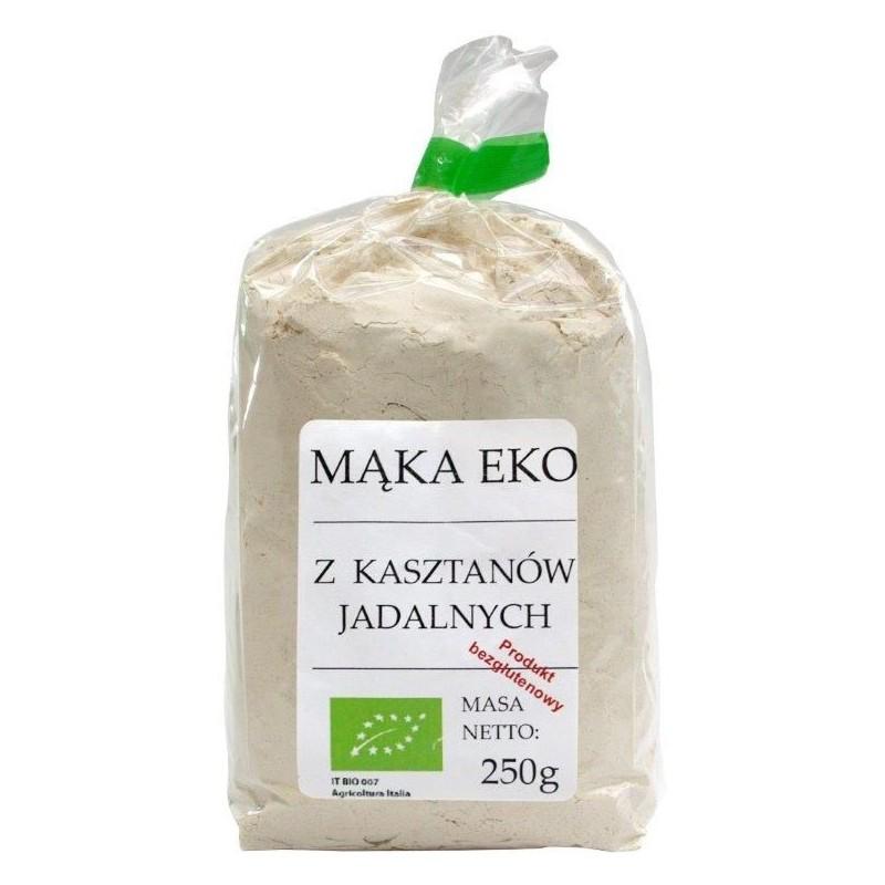 Mąka z kasztanów jadalnych bezglutenowa BIO 250g VIANDS