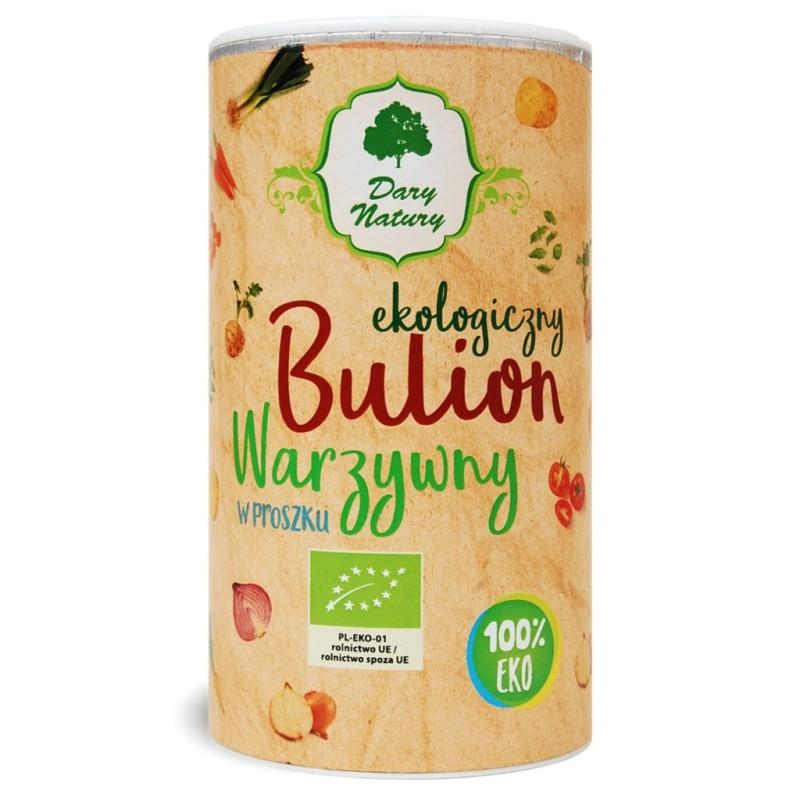 Bulion warzywny w proszku eko 200g DARY NATURY