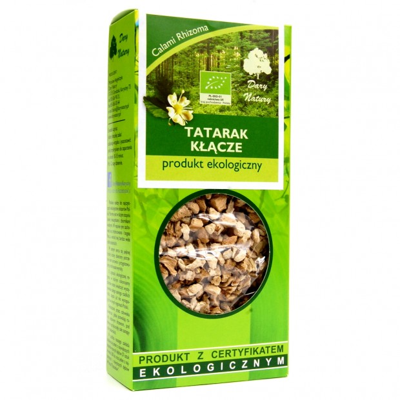 Tatarak kłącze EKO 50g DARY NATURY