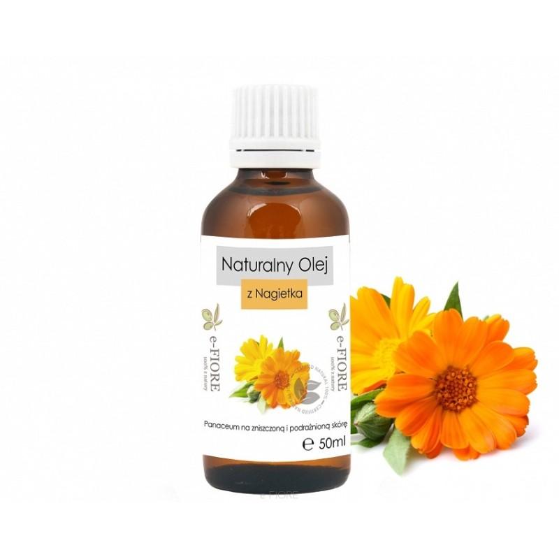 Naturalny olej z nagietka 50ml E-FIORE