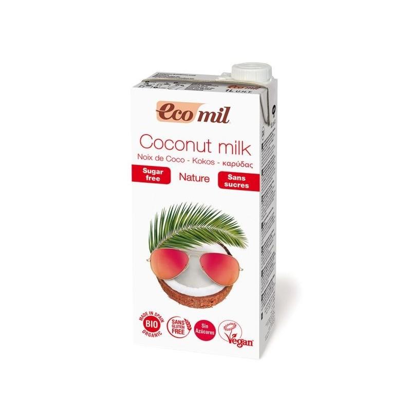 Mleko kokosowe niesłodzone bio 1l ECOMIL