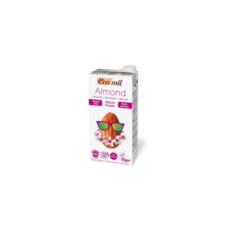 Napój migdałowy niesłodzony z podwyższoną zawartością białka BIO 1L ECOMIL