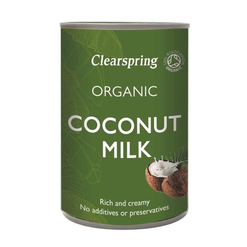 Mleko kokosowe bio 400ml CLEARSPRING