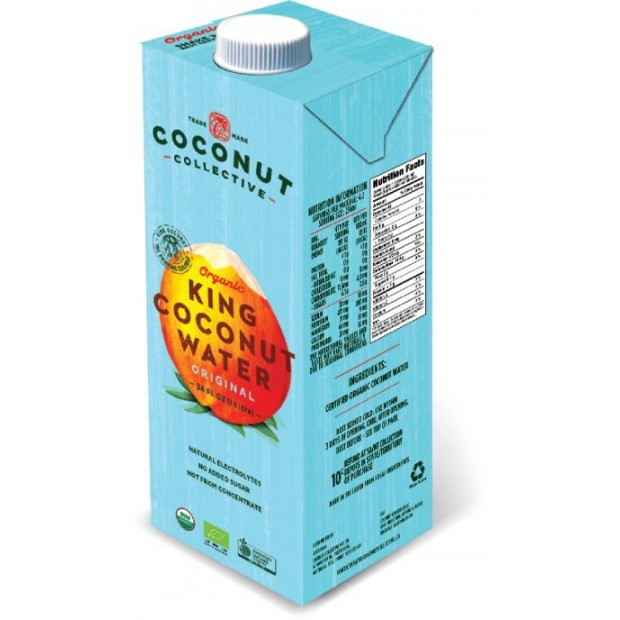 Woda kokosowa BIO 1l COCONUT COLLECTIVE