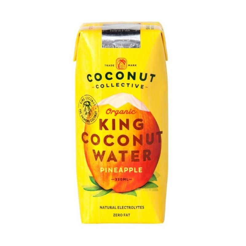 Woda kokosowa z ananasem bio 330ml COCONUT COLLECTIVE