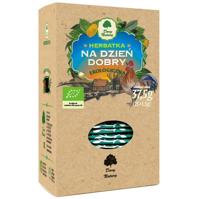 Herbata Na dzień dobry EKO 25x1,5g DARY NATURY