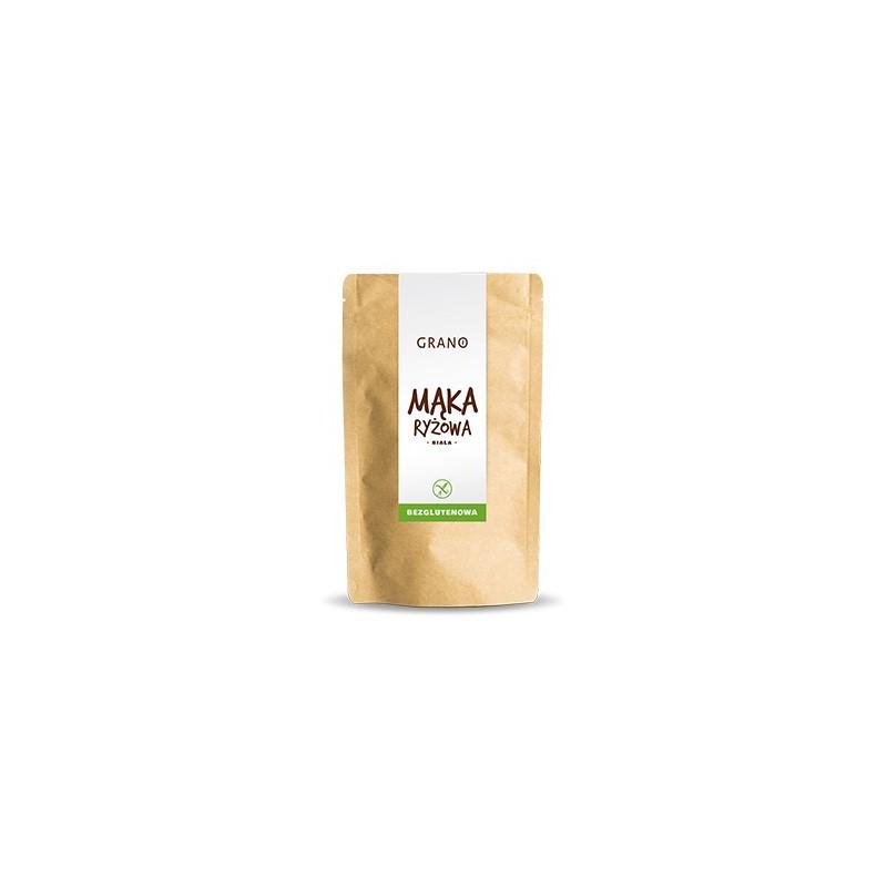 Mąka ryżowa biała bezglutenowa 500g GRANO