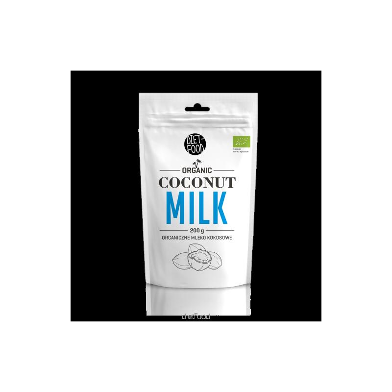 Mleko kokosowe w proszku bio 200g DIET-FOOD