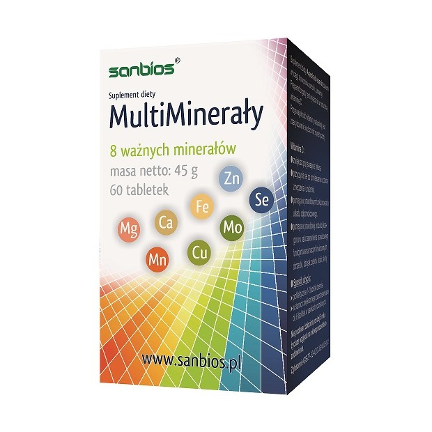 MultiMinerały 60 tbl. SANBIOS