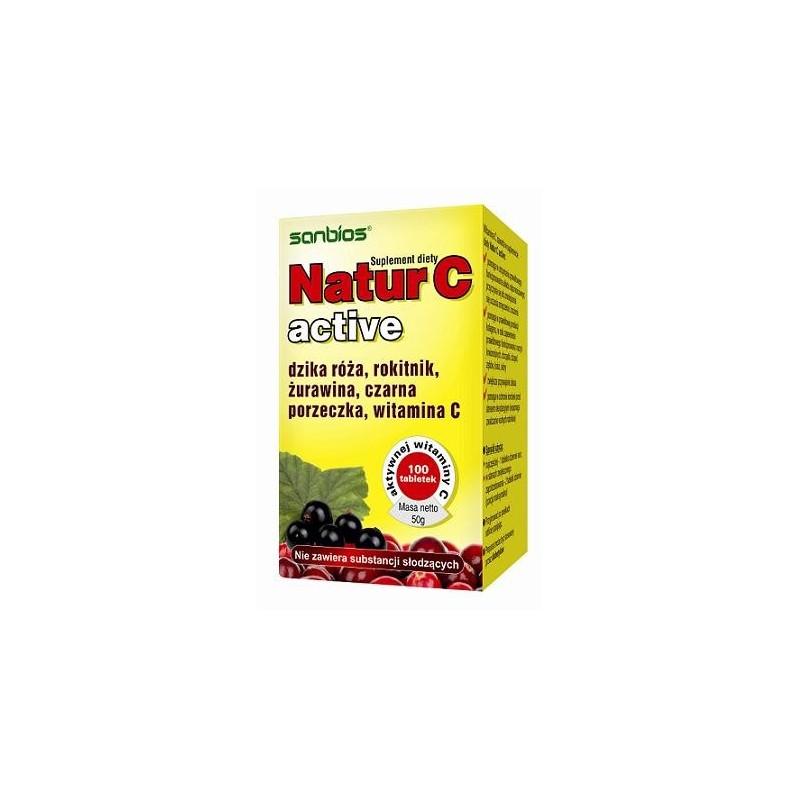 Natur C Active 100 tbl. SANBIOS