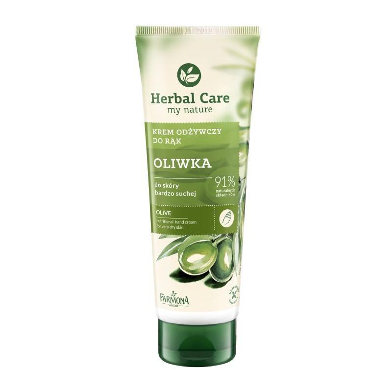 Krem do rąk oliwkowy-odżywczy 100ml Herbal Care