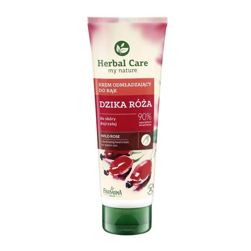 Krem do rąk różany - odmładzający 100 ml Herbal Care
