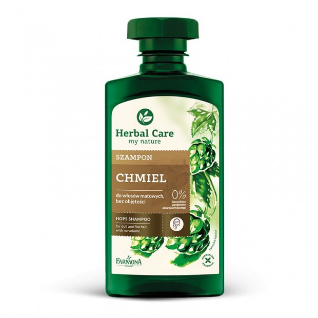Szampon chmiel 330ml Herbal Care