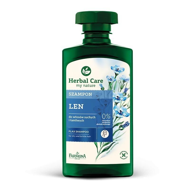 Szampon lniany 330 ml Herbal Care