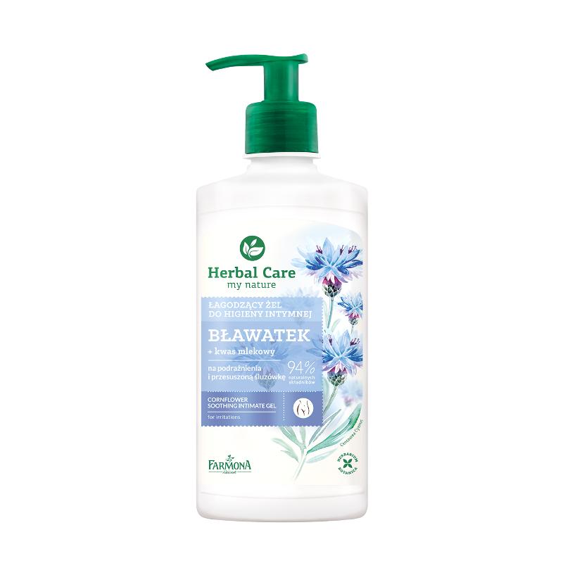 Żel do higieny intymnej łagodzący bławatek 330 ml Herbal Care