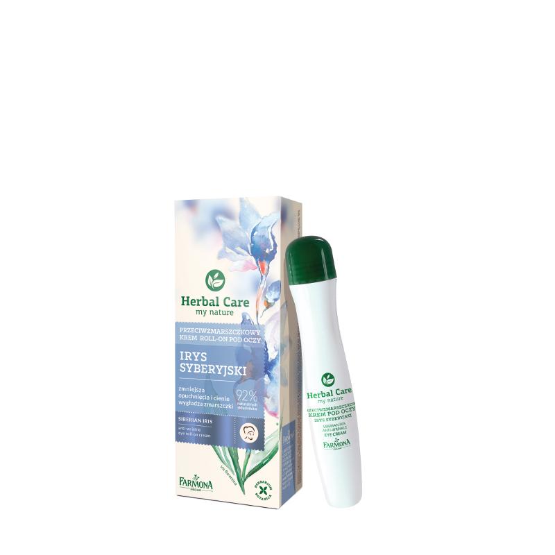 Krem przeciwzmarszczkowy roll-on pod oczy 15ml Herbal Care