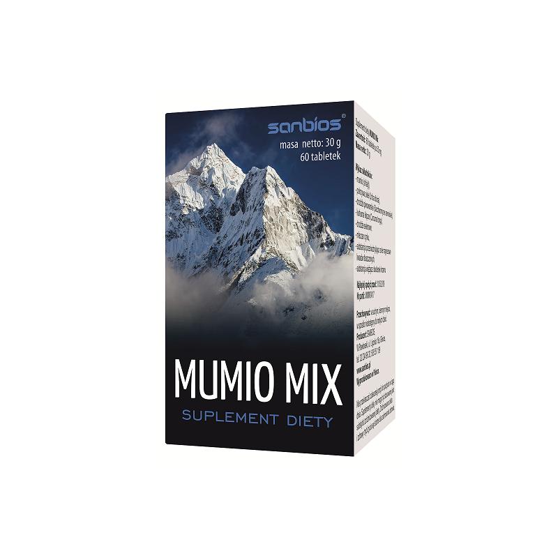 Mumio Mix 60 tabl. SANBIOS