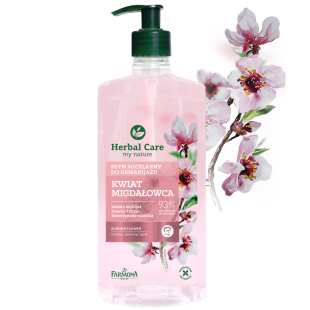 Płyn micelarny do demakijażu 400 ml Herbal Care