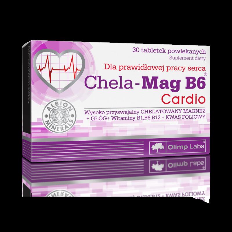 Chela-Mag B6 Cardio 30 tabl OLIMP