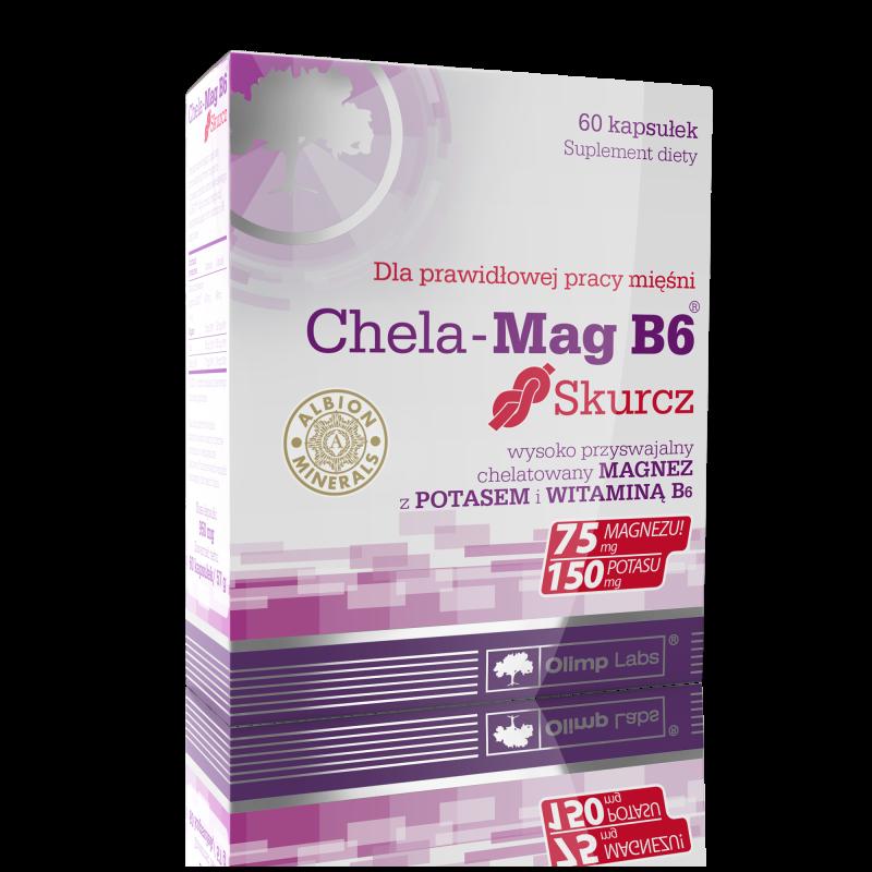 Chela-Mag B6 Skurcz 60 kaps OLIMP