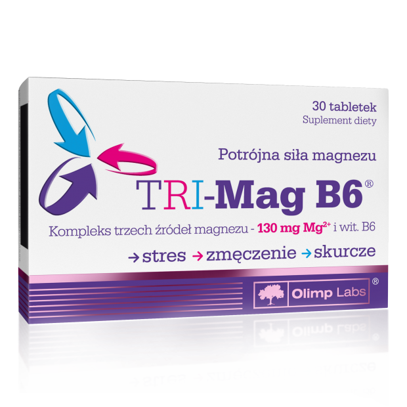 TRI-Mag B6 30 tabl OLIMP