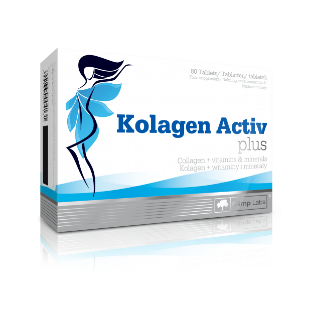 Kolagen Activ plus do ssania 80 tabl. OLIMP