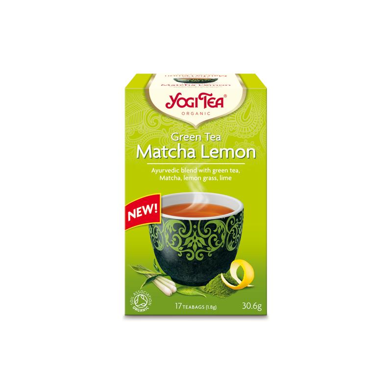 Zielona Matcha cytrynowa YOGI TEA