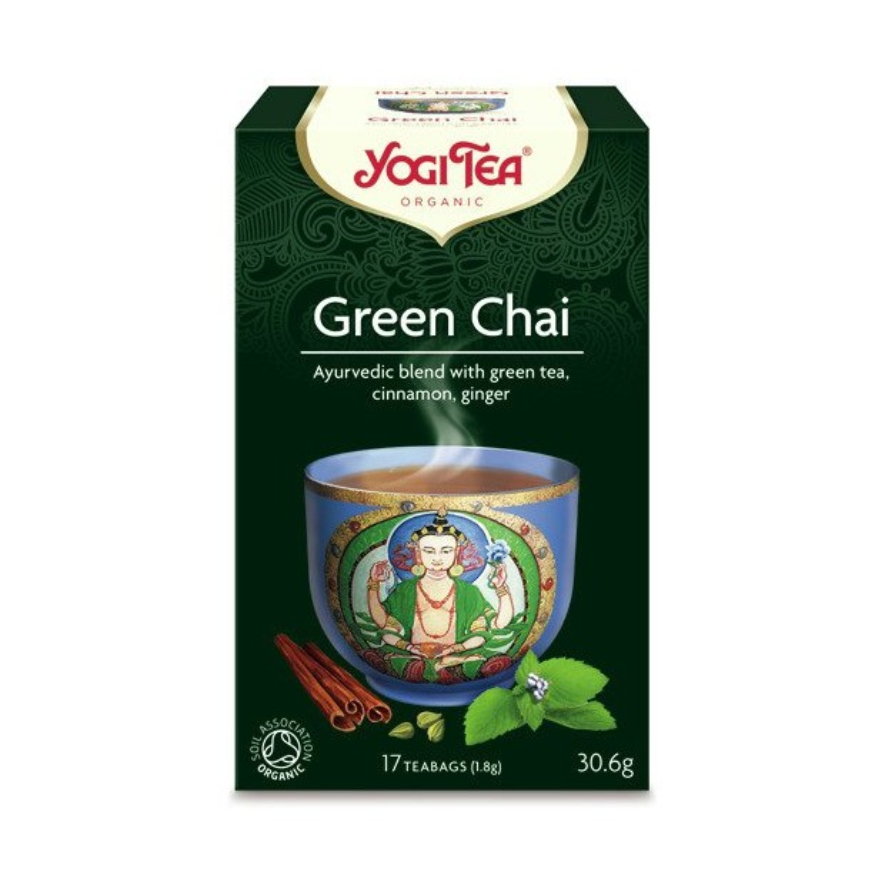 Zielony czaj YOGI TEA