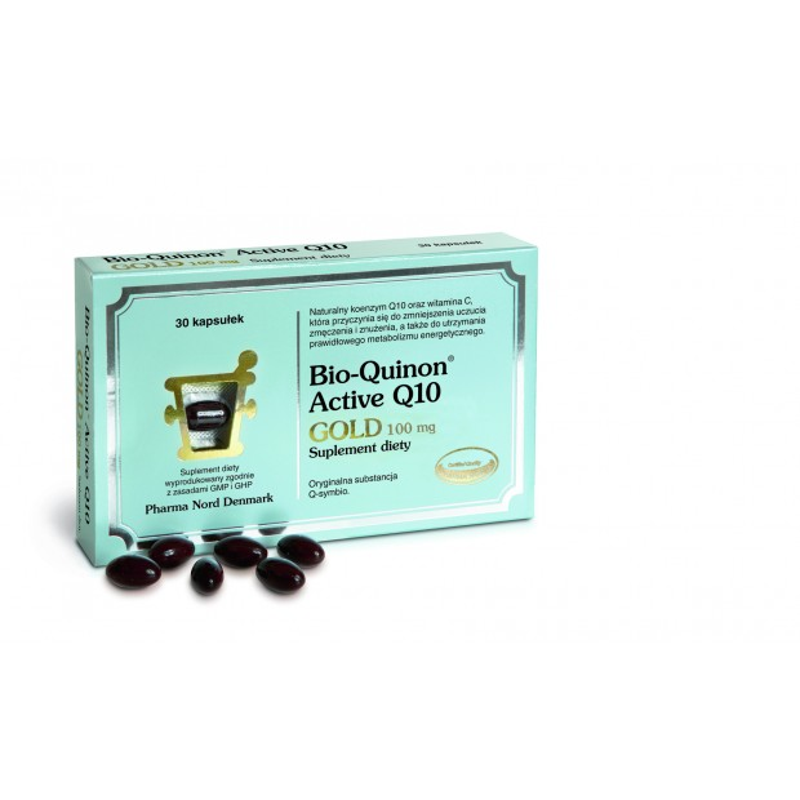Bio-Quinon Active Q10 GOLD 100mg 30 kaps. Pharma Nord