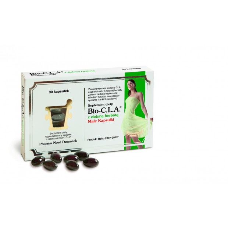 Bio-C.L.A. z zieloną herbatą 90 kaps PHARMA NORD