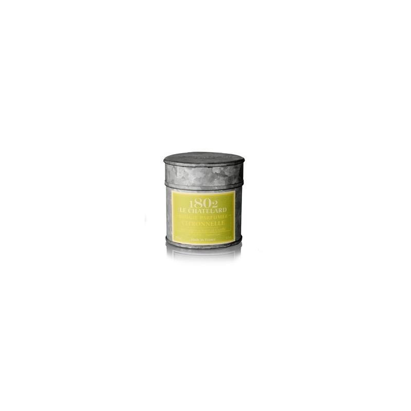 Świeca zapachowa Trawa cytrynowa 100g LE CHATELARD