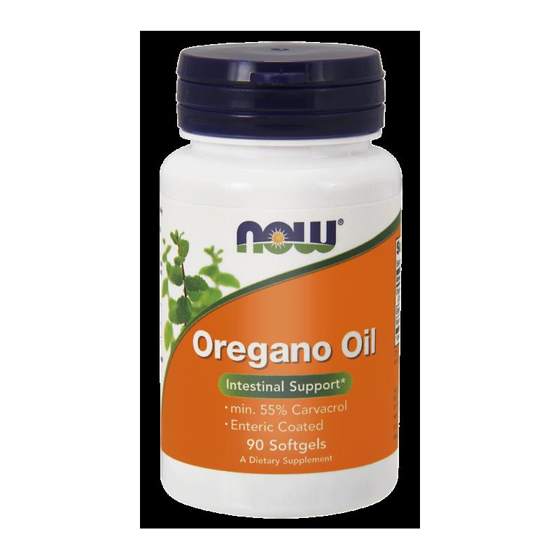 Oregano oil kompleks 90 kaps. NOW FOODS