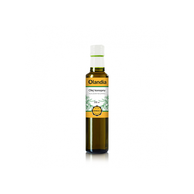 Olej z konopi 250 ml OLANDIA