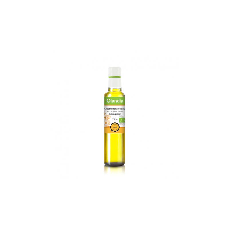 Eko olej słonecznikowy do smażenia 250 ml OLANDIA