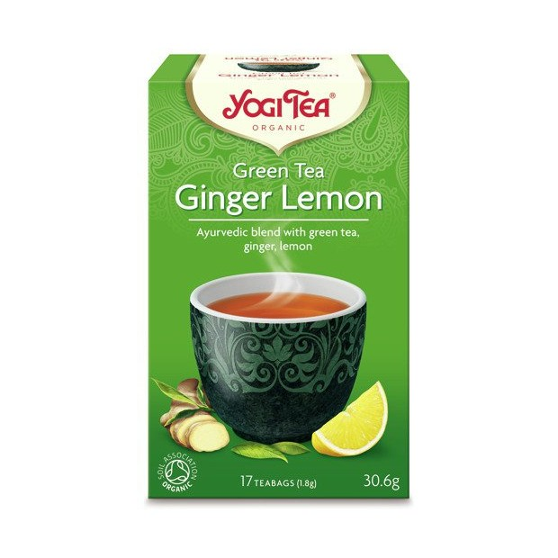 Zielona imbirowo-cytrynowa YOGI TEA