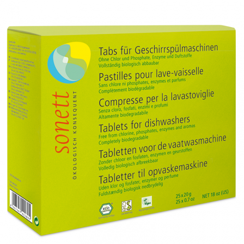 Tabletki do zmywarki 25 szt. SONETT