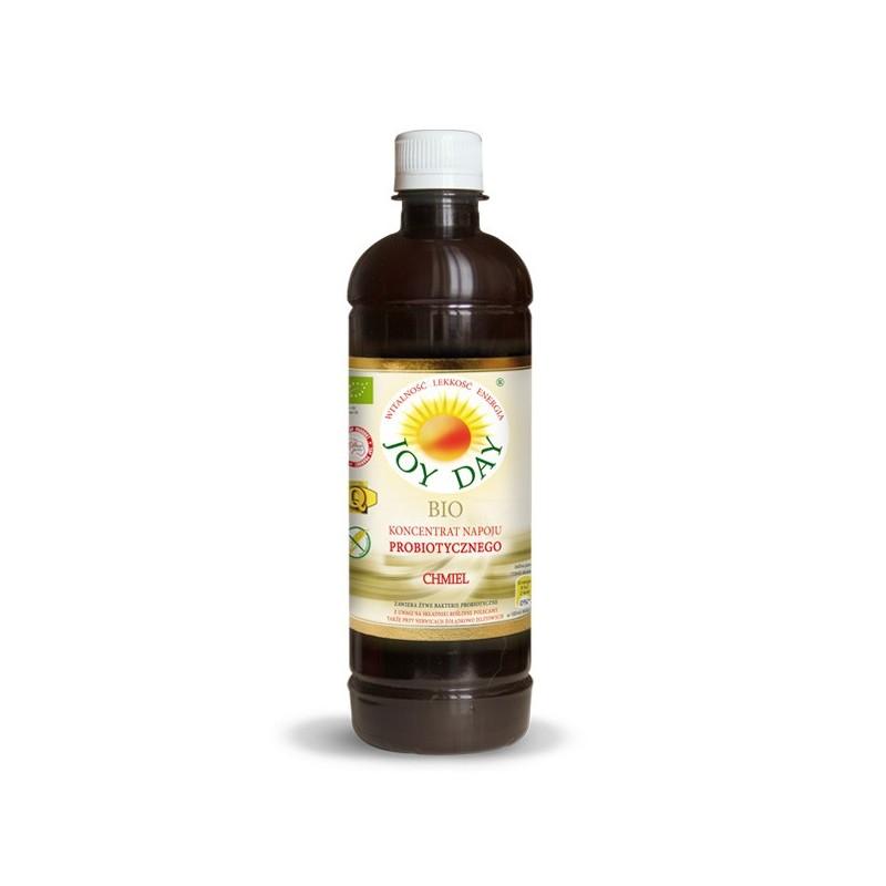 Koncentrat napoju probiotycznego Chmiel EKO 500ml JOY DAY