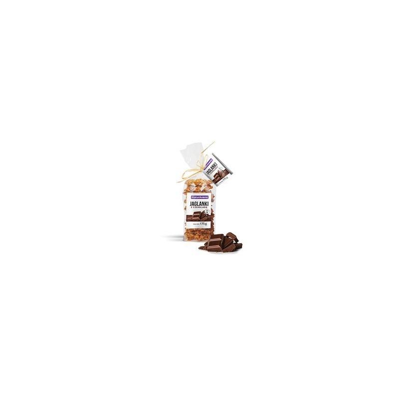 Ciastka jaglanki z czekoladą 175g NATURAVENA