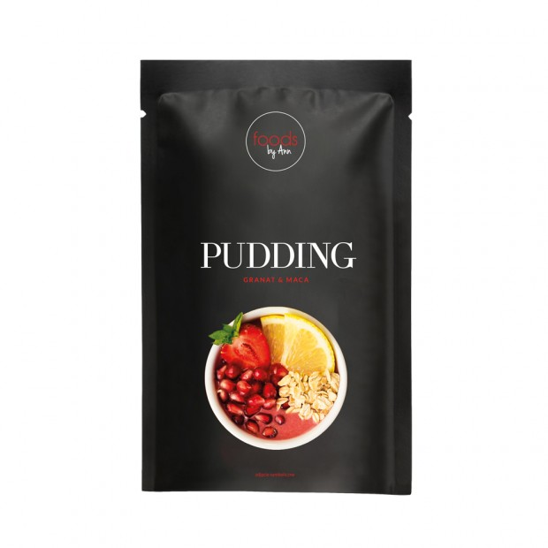 Pudding granat+maca 20g FOODS BY ANN