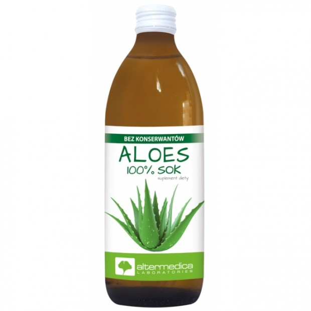 Aloes sok z aloesu 500 ml ALTER MEDICA
